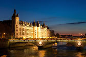 Nacht in parijs — Stockfoto