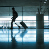 Abstract airport — Stock Photo