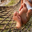 Stock Photo: Relax in hammock
