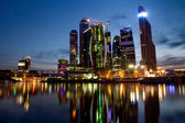 Skyscrapers of Moscow business centre — Stock Photo
