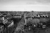Paris panoramic view — Stock Photo