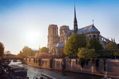 Notre Dame de Paris, France — Stock Photo