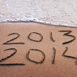 Happy new year 2013 - 2014 — Stock Photo