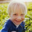 Laughing little boy — Foto Stock