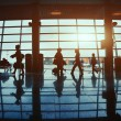 People in the airport — Stock Photo