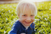 Laughing little boy — Stock Photo