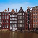 Amsterdam view — Stock Photo