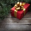 Gift for xmas or new year — Stock Photo #34906817