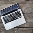 Laptop — Stockfoto