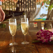 Stockfoto: Honeymoon celebration
