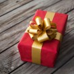 Red gift box — Stock Photo #36712563