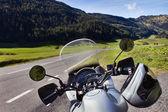 Motorcycle trip — Stock Photo
