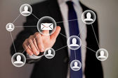 L'email marketing — Foto Stock