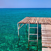 Beach pier — Stock Photo