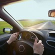 Driving on highway — Stock Photo #47105373