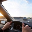Driving on highway — Stock Photo #47118413