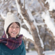 Young woman in winter fashion - Stock Photo