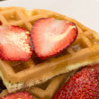 Royalty-Free Stock Photo: Close up of Waffles