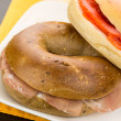 Royalty-Free Stock Photo: Bagel Sandwiches