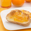 Royalty-Free Stock Photo: Toast with Marmalade