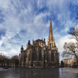 Saint Andre Cathedral in winter, Bordeaux, France. — Stock Photo