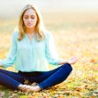 Stock Photo: Zen girl
