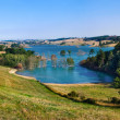 Panorama of Ganguise lake - Stock Photo
