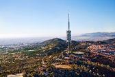 Vysílač barcelona — Stock fotografie