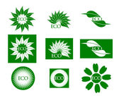 Eco logo — Stock Photo