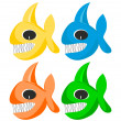 Funny fishes — Stock Photo