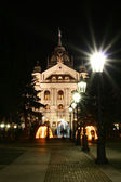 State theatre in the night Kosice city — Stock Photo