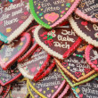 Oktoberfest 2012 - Gingerbread hearts — Stock Photo #13488721