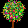 Colorful tree — Stock Photo #20496357