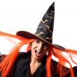 Witch scream — Stock Photo #12591116