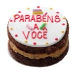 Brazilian birthday cake — Stock Photo
