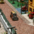 Focused miniature — Stock Photo