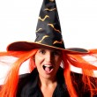 Witch scream — Stock Photo