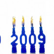 Year 2009 birthday — Stock Photo #12604474