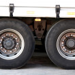 Stock Photo: Truck tires