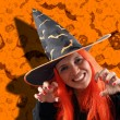 Stock Photo: Witch sorcery