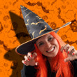 Witch sorcery — Stock Photo #12605566