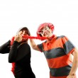 Funny couple — Stock Photo #12605655