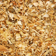 Sawdust animal bedding (Texture) — Stock Photo