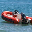 Stock Photo: Inflatable boat