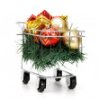 Stock Photo: Christmas shopping time