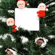 Stock Photo: Santas message