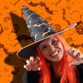 Witch sorcery — Stock Photo