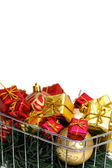 Xmas buying time detail — Stock Photo