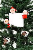 Mikołaje wiadomość — Zdjęcie stockowe