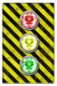 Traffic light (illustration) — Stock Photo